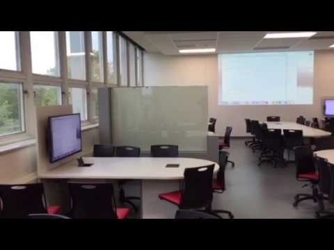 Smart glass at University de Laval
