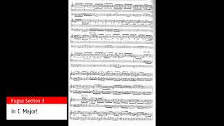 Bach prelude and fugue in A Minor