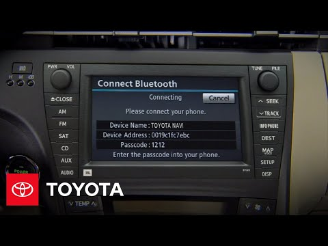 2010 Prius How-To: Bluetooth® | Toyota