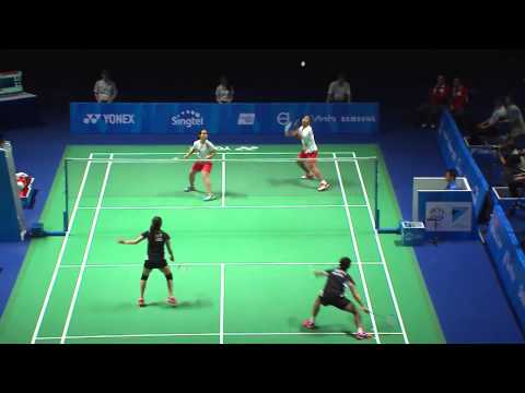 Badminton (Day 8) Sin vs Mas  | 28th SEA Games Singapore 2015