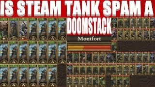 Is Steam Tank Spam A Doomstack?