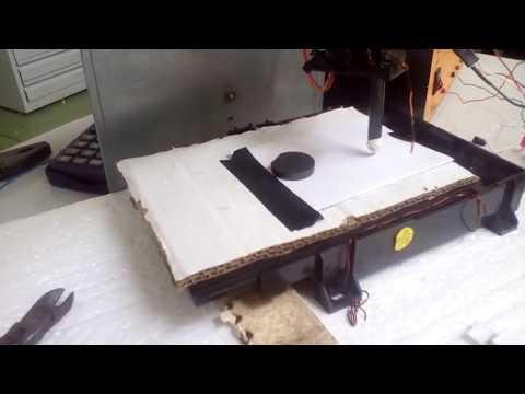 Robotics Ethiopia --------  Ethiopian robotics project - Simple CNC Machine