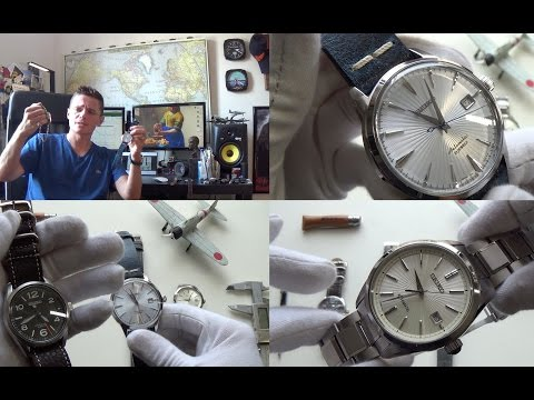 Best Japanese Watches Under $500 & Triple Review - SARG011,