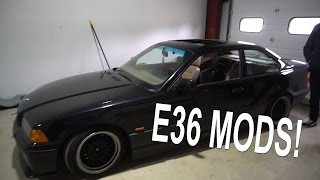 CHEAP E36 MODS!