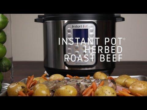 Instant Pot Herbed Roast Beef