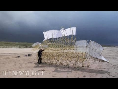 Theo Jansen's Wind-Powered Sculptures