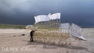 Theo Jansen's Wind-Powered Sculptures | The New Yorker