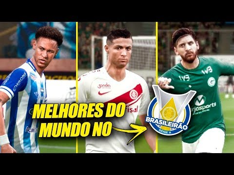 COLOQUEI OS *MELHORES DO MUNDO* NO BRASILEIRÃO!   FIFA Experimento