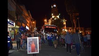 Granada también se manifestó en contra de los asesinatos de líderes sociales