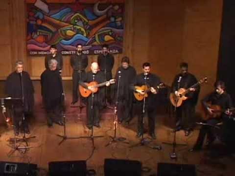 Cantata Santa María de Iquique de Quilapayún en la Facultad de Artes