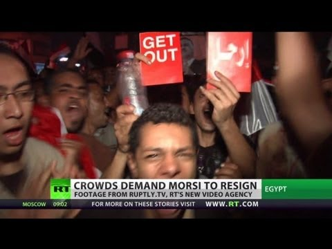 Millions against Morsi: Egyptians demand resignation in 'world's largest' protest