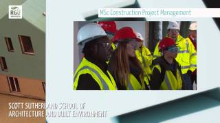 MSc Construction Project Management