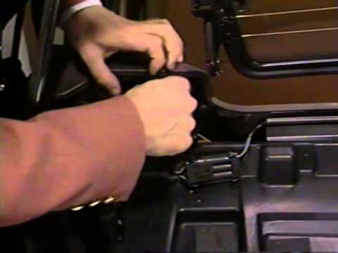 Cadillac Allante - Roof Change Procedures