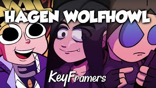 HAGEN WOLFHOWL : Hablando sobre Youtube, Parodias y Patreon | KeyFramers #07
