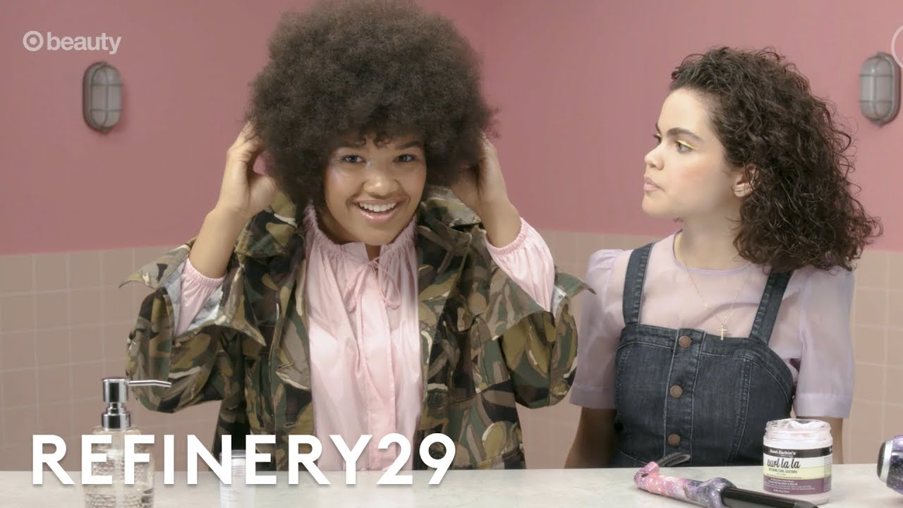 We Share Our Secret Summer Curly Hair Routines | Refinery29