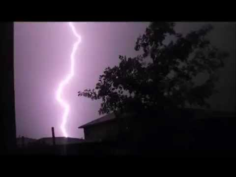 April Storms over Central Texas in Time Lapse