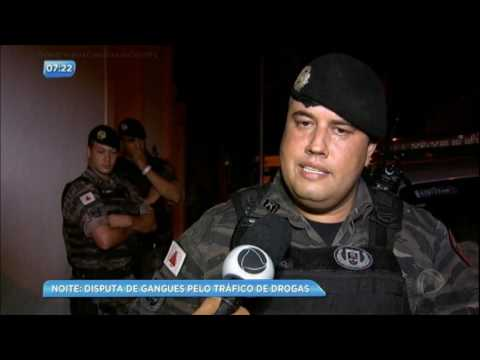 Guerra de gangues: polícia prende suspeito durante operação contra tráfico de drogas
