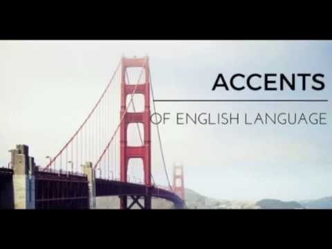 All accents of English: accent South-East London England HD