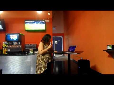 Teresa Hardin...Karaoke @ Razzmatazz Family Center...Chgo Ill
