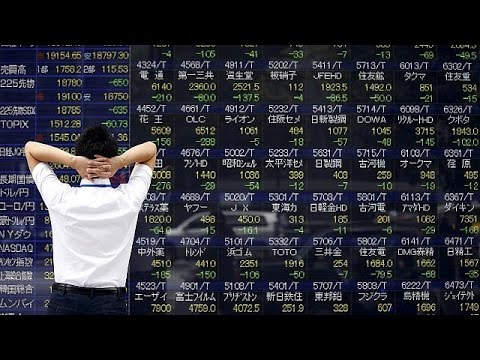 Asian stocks tumble to lowest level in three years