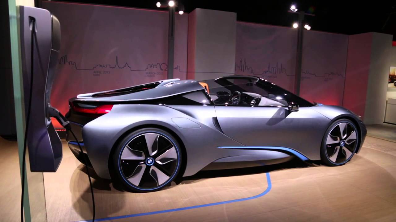 Bmw I8 Roadster The Design Youtube