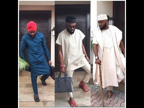 LATEST AFRICAN MENS AGBADA ASO EBI  FASHION STYLES