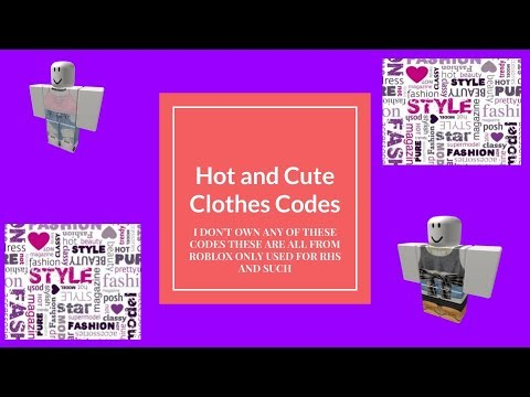 Cute Outfit Codes Roblox