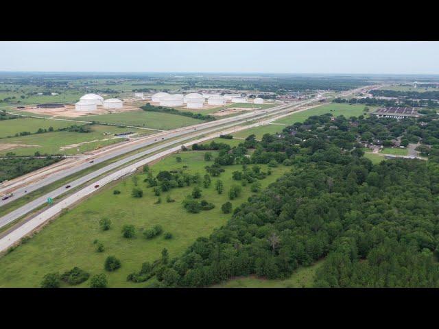 I-10 Real Estate Development site Sealy TX