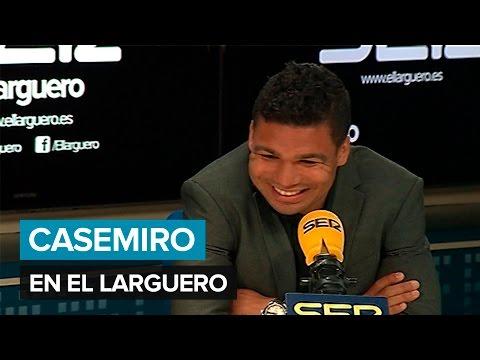 """Casemiro, en 'El Larguero': """"No me siento titular, me siento muy importante"""". Cadena SER"""