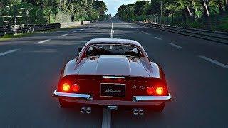Gran Turismo Sport - Gameplay Ferrari Dino 246 GT @ Le Mans [1080p 60fps]