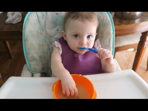 When Must I Introduce a Spoon to My Toddler