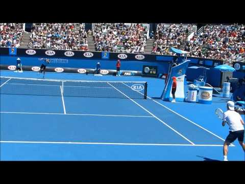 Gasquet back perspective match play