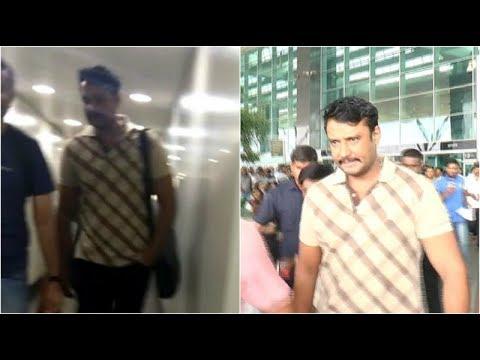 Finally Darshan Arrived Bengaluru To Pay Final Tribute To Ambareesh