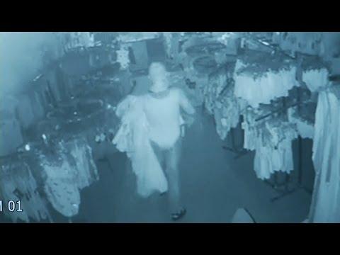 Burglar Caught On Surveillance Stealing From Store In A Dance Leotard: Cops