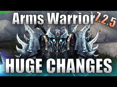 Arms Warrior 7.2.5 Huge Changes!