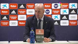 Rueda de prensa Real Madrid vs Getafe CF