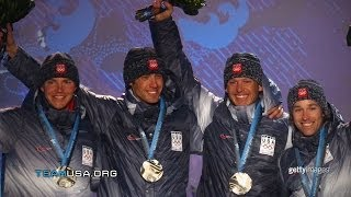 2010 Nordic Combined  Ski Team | Great Moments In Team USA History