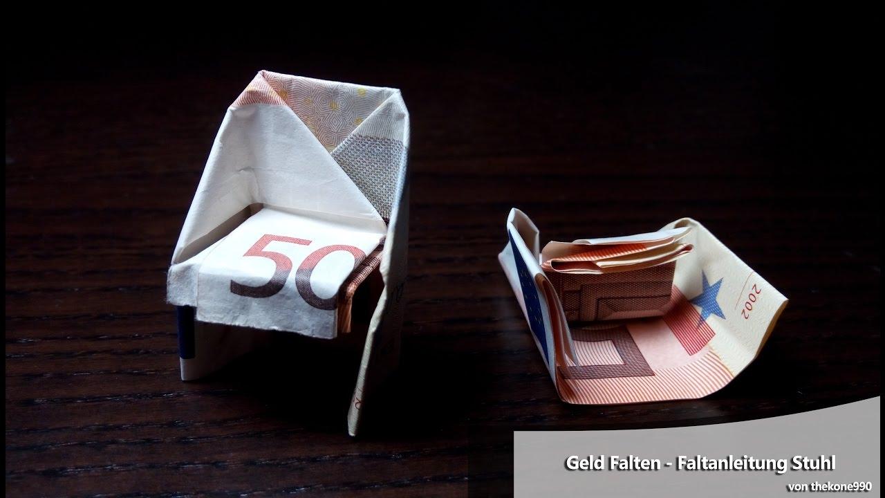 stuhl basteln aus geld my blog. Black Bedroom Furniture Sets. Home Design Ideas