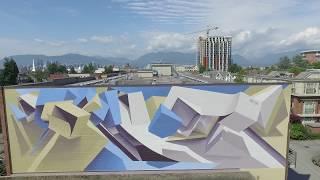 Vancouver Mural Festival: PEETA