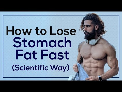 how-to-lose-stomach-fat-fast-(men-&-women)-|-most-scientific-way