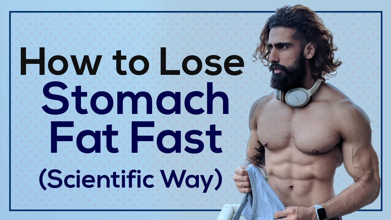 How To Lose Stomach Fat Fast Men Women Most Scientific Way