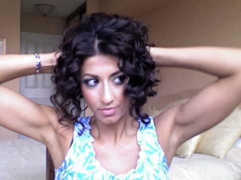 Vanessa Hudgens Inspired Curly Up Do Youtube