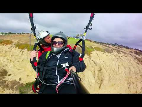 charlotte collins Paragliding at Torrey Pines Gliderport
