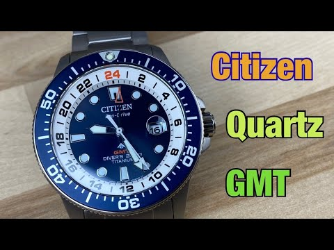 Citizen GMT Quartz Bj7111