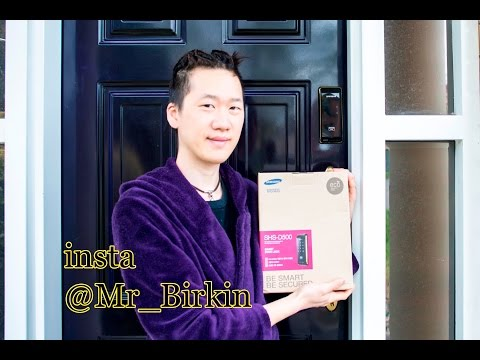 how to install Samsung SHS-D500 Digital Door Lock - Mr Birkin