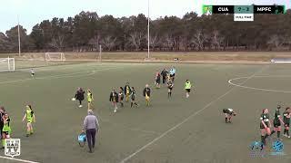 2019 NPL Capital Women\'s Round 13 - Canberra Academy United v Monaro Panthers FC