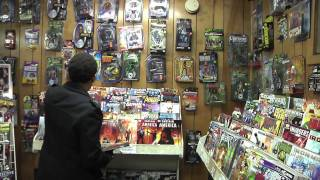Repeat youtube video John Stone, Issue #1 - A Day in The Life of a Comic Shop Owner