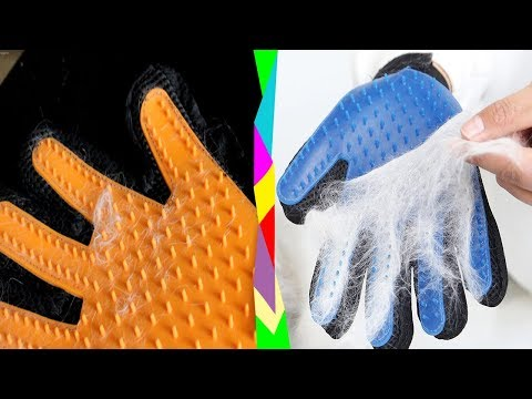 Перчатка от шерсти с Aliexpress | работает или нет?