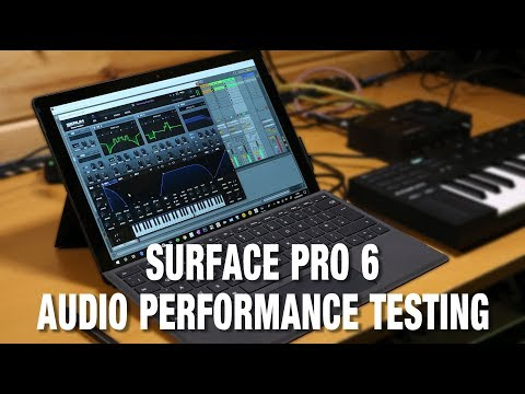 Surface Pro 6 Audio Performance Testing - Surface Pro Audio