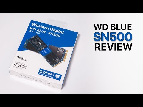 WD Blue SN500 Review - The best value NVMe SSD
